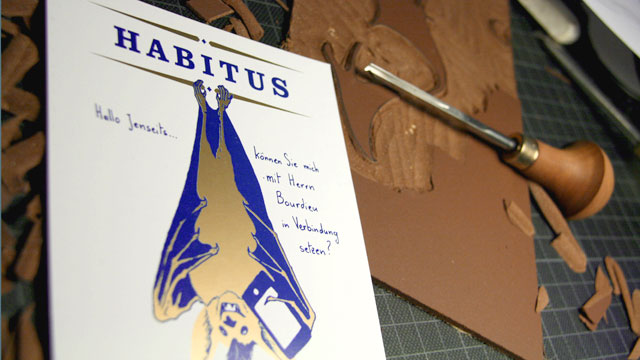 Habitus flyer printed